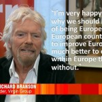 We should stay in the EU says Virgin boss