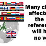 Many citizens affected by the EU referendum will have no vote