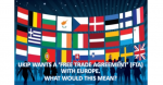 Would a free trade agreement with Europe mean the end of free movement of people?