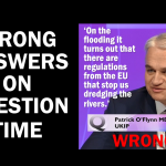 Wrong answers on BBC Question Time