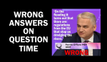 UKIP MEP gives the wrong answers on Question Time