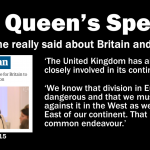 What the Queen really said about Europe
