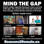 Britain has more vacancies than Britons to fill them