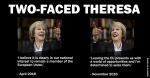Two-faced Theresa