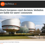 Human Rights Court rules on 'hate' comments