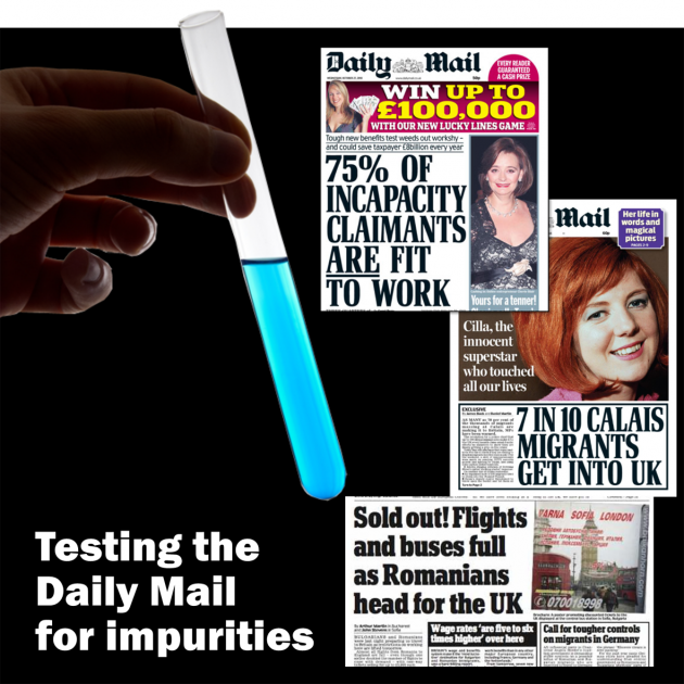 Testing the Daily Mail for impurities