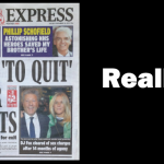 Britain is leaving the EU, says Daily Express. Really?