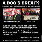 A dog's Brexit?