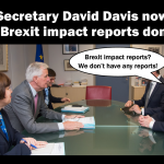 UK Brexit impact reports now don't exist