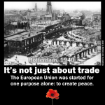 The EU was started for one purpose: peace