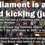Theresa May loses key Brexit vote