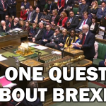 Not one question about Brexit