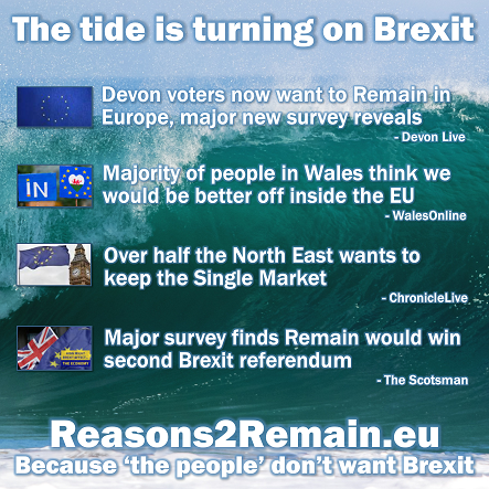 The tide is turning on Brexit