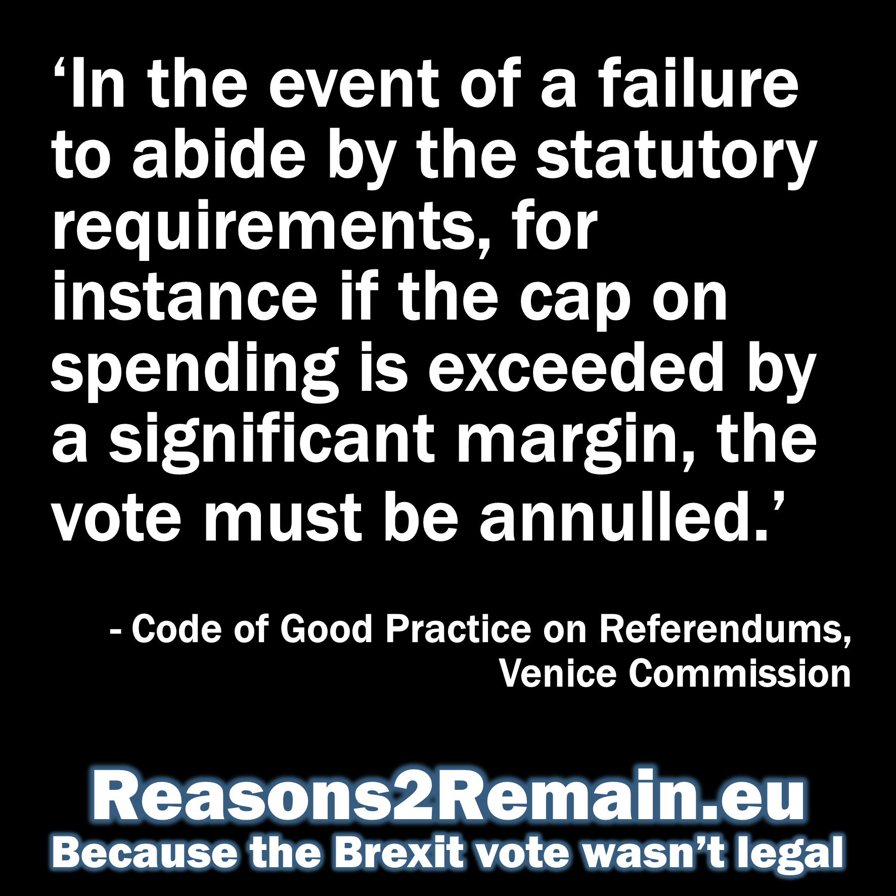 Should the EU referendum be annulled?