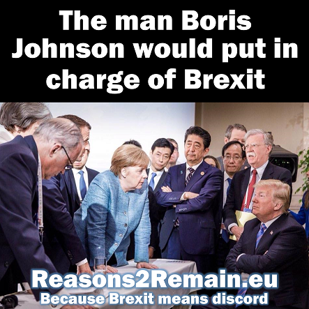 The man Boris Johnson would put in charge of Brexit