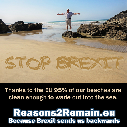 Our beaches are clean because of the EU