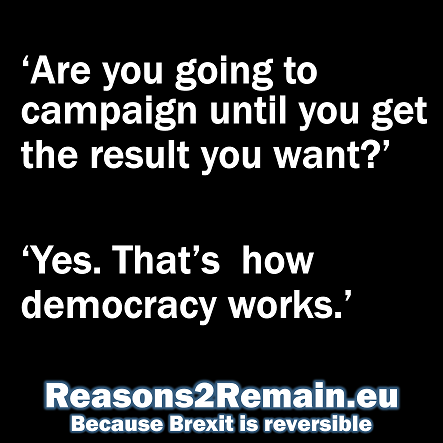 Brexit is reversible
