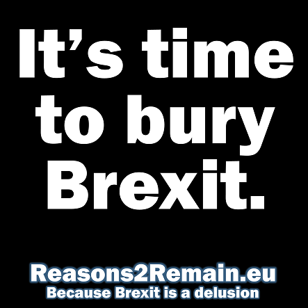 It's time to bury Brexit