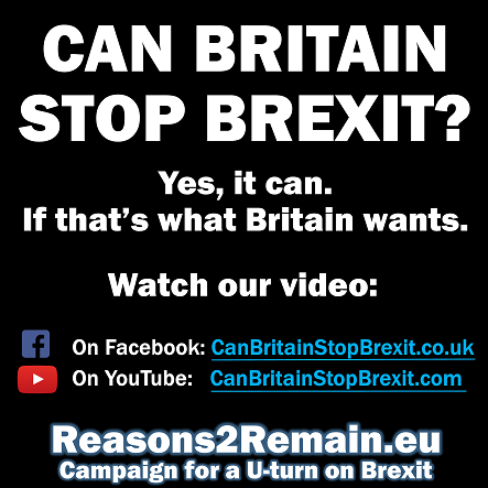 Can Britain stop Brexit? Yes.