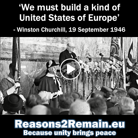Churchill's antidote to war: A united Europe