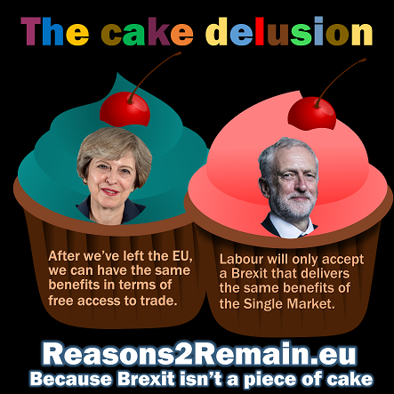 The Tory and Labour Brexit cake delusion
