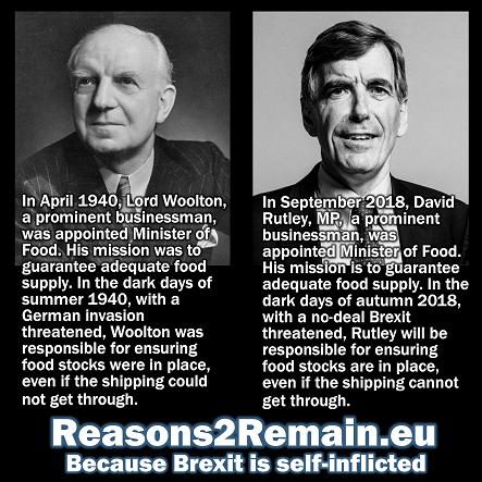 No-deal Brexit threatens food supplies