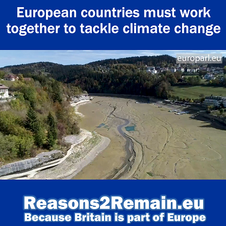 Climate change: European countries must work together