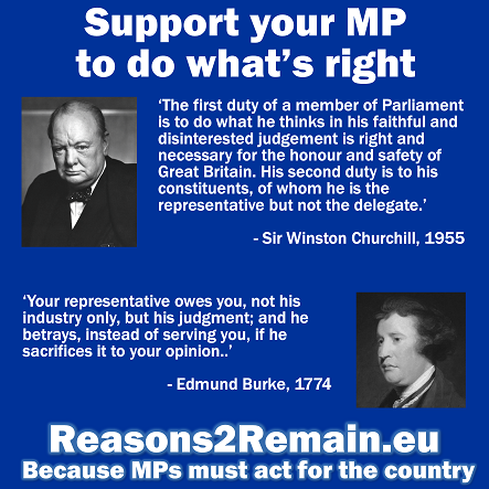 Brexit: Support your MP to do what's right