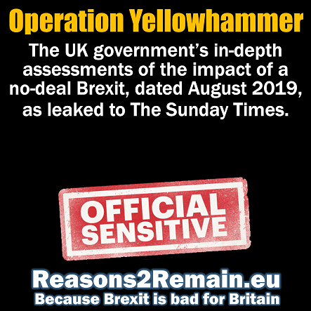 Operation Yellowhammer: Speak up before it's too late