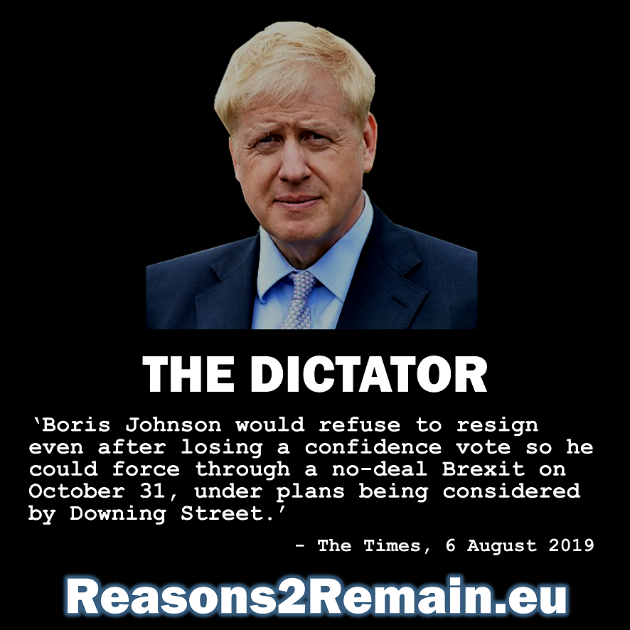 Boris Johnson: The dictator