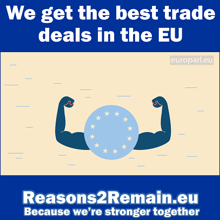 We get the best trade deals in the EU