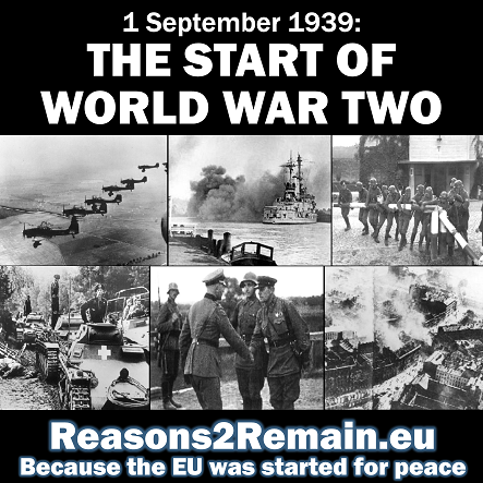 80 years ago: The start of World War Two