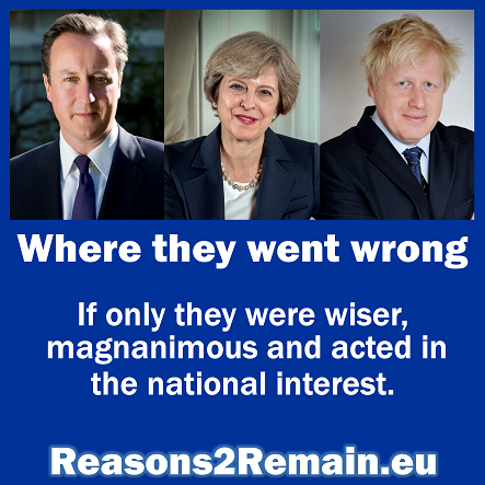 Cameron, May, Johnson: Where they went wrong