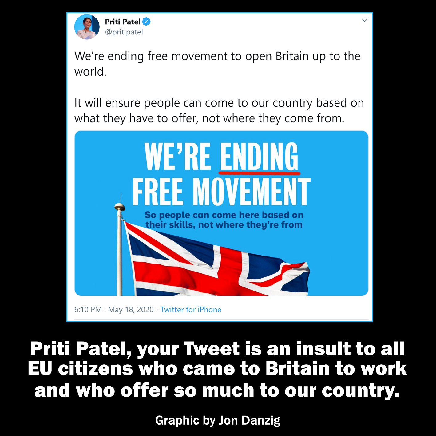 An insult to all EU citizens in Britain