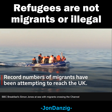 Refugees are innocent