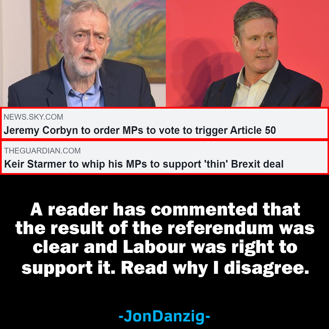 Why Labour should not have supported Brexit