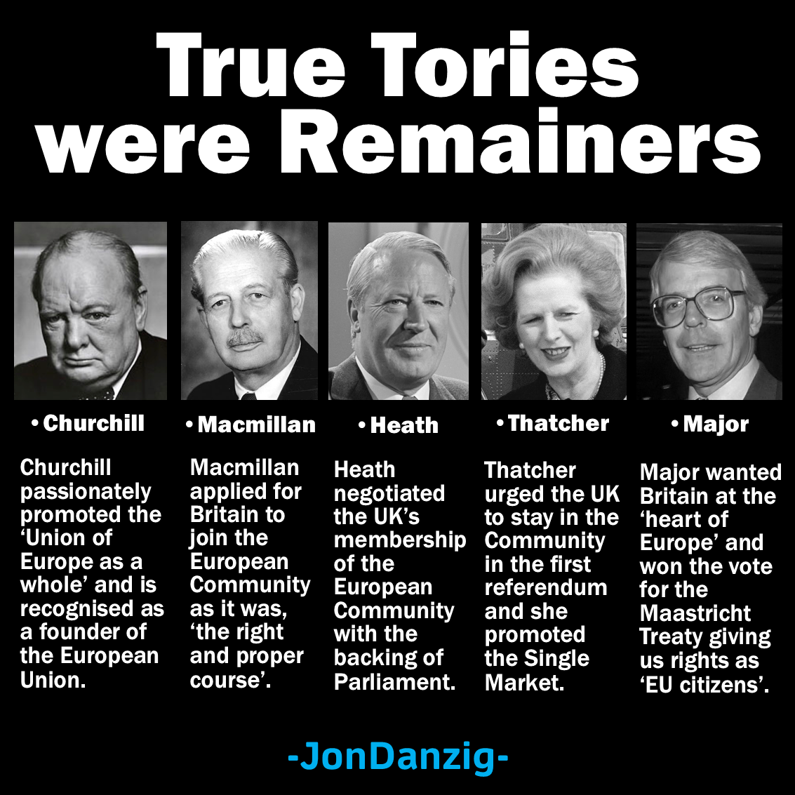 True Tories were Remainers