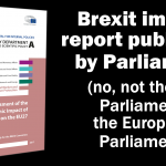 Brexit impact report published by Parliament